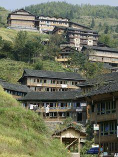 Village of Pin Gan, Guilin, Guangxi, China