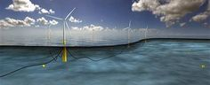 Given their potential to both drive down the cost of wind energy and increase the geographical range of feasible sites -- they'll be able to operate in much deeper waters than fixed-base turbines, floating wind turbines make sense. Norway's Statoil has gotten approval for the Hywind floating wind farm project off the coast of Scotland.