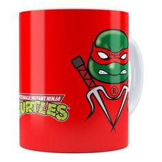 Caneca Tartarugas Ninja Raphael 01