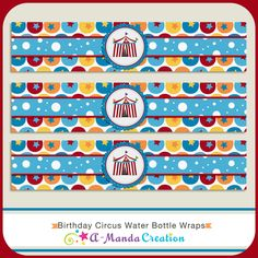 Love these awesome circus party printables from #AmandaCreaion, they are a perfect accent to our circus party!