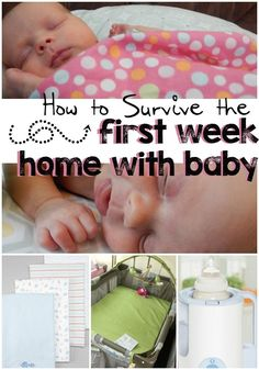 Make that first week baby comes home a little less stressful with these great tips! #BabyDepot #ad