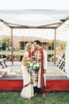 Pretty Hindu American wedding
