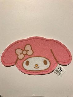 Sanrio My Melody McDonald's Happy Meal Toy Coaster @Feb 2017 Japan