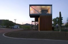 Social Condenser House, Superior, Arizona, United States  by: blank studio architecture