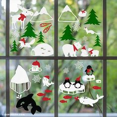 1000 Ideas About Window Clings On Pinterest Faux