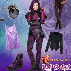 descendants disney mal | Now that our Descendants Style Series is complete – you've got ...