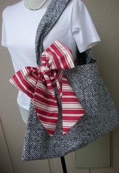 Handbag  Tote Bag  Book Bag  Handmade Tote Bag  by AnniesAttic, $24.95