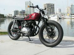 Brat style CB360 by Cafe Creations & Customs