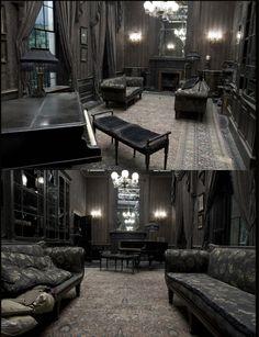 gothic architecture began at the Dark Home Decor, Gothic Home Decor, Future House, My House, Gothic Interior, Goth Home, Dark Interiors, Gothic House, Haunted Mansion