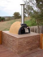 The DIY kits come with the required materials to start building your oven ready for a beautiful wood fired meal to be cooked in for you to enjoy... Home Pizza Oven, Pizza Oven Kits, Pizza Ovens, Wood Fired Oven, Wood Fired Pizza, Wood Pizza, Four A Pizza, Do It Yourself Kit, Outdoor Living