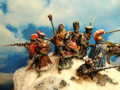 """Cossacks"" Merite certificate at STRESA 2014 by Francesco Thau Empire, War Image, Napoleonic Wars, Military History, Vignettes, Masters, Certificate, Miniatures, Fantasy"