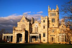 The 19th century Gothic Revival Lyndhurst in Tarrytown, New York - Photo by James Kirkikis/age fotostock/Getty Images