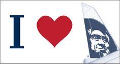 I [Heart] Alaska Alaska Airlines, Bumper Stickers, Heart, Cards, Bumper Stickers For Cars, Maps, Playing Cards, Hearts