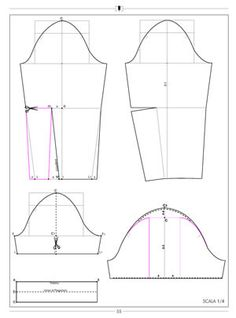 Sleeve with elbow dart or puffed graph