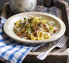 Braised rabbit pappardelle need to find rabbit meat