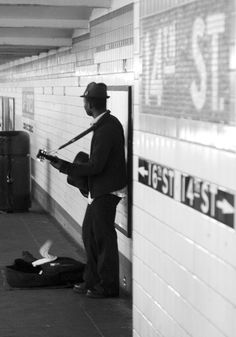 Street musician in NYC #busking