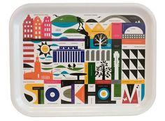 "Maria Holmer Dahlgren ""Stockholm tray"": Birch Stockholm serving tray"