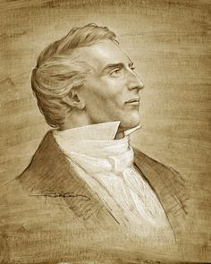 Joseph Brickey's portrait of Joseph Smith.