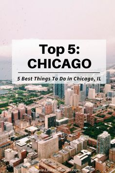 Wondering what to do in Chicago?  Here are the top 5 attractions and sights to see and do in Chicago, IL! From The Bean to The Willis Tower, make sure you don't miss any of the iconic Chicago must-sees when you're in the Windy City!