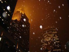 Snowy, stunning Minneapolis.