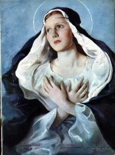 Virgin Mary - Maria Szantho. Of all women God prepared Mary from her conception to be the Mother of the Incarnate Word