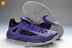 wholesale dealer 8a539 911a5 Wholesale Cheap Nike Hyperdunk Low 2013 Court Purple Strata Grey-Black Your  Best Choice