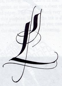 ✍ Sensual Calligraphy Scripts ✍ initials, typography styles and calligraphic art - Gottfried Pott