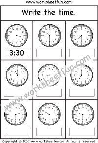 Student example | Telling Time | Pinterest