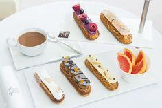 """Les fameux éclairs servis au """"tea time"""" à l'hôtel Majestic & Spa à Barcelone"""