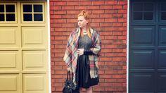 Blanket scarf Blanket Scarf, Fall 2015, Wrap Dress, Dresses, Fashion, Vestidos, Moda, Wrap Around Dress, Wrap Dresses
