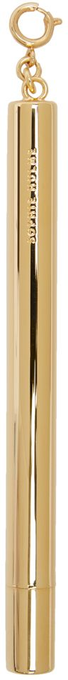 Sophie Hulme Gold Stationary Pencil Keychain
