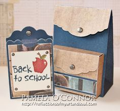 Cricut Artiste Back to School Gift Card & Backpack by Pamela O'Connor - Reflections of My aRt & sOuL
