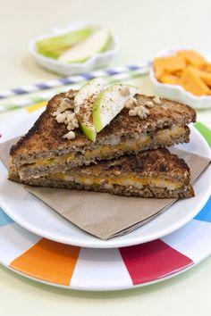 Apple Pie Grilled Cheese Recipe on FamilyFreshCooking.com