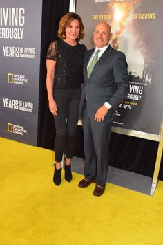 http://blacktiemagazine.com/society_september_2016/Years_of_Living_Dangerously_World_Premiere.htm  LuAnn De Lesseps and Tom D'Agostin, Jr.  Photo by:  Rose Billings/Blacktiemagazine.com