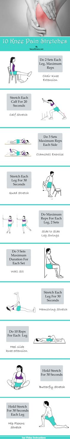 10 Simple Stretches That Relieve Knee Pain for Good