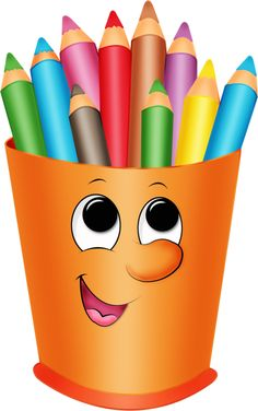 Яндекс.Фотки Školní Potřeby, Clip Art, Ruční Výrobky Na Den Matek, Barevné Pastelky, Appliques, Učitelé