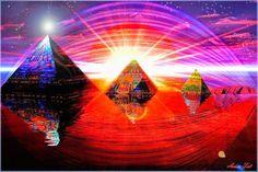 Universo Espiritual Compartiendo Luz: LAS 12 PIRAMIDES DE THOT