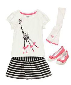 Mod Giraffe Outfit from Crazy 8. #GESWhereMyPeepsAt