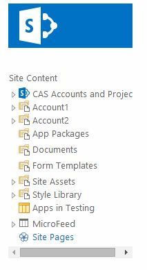 Hiding SharePoint Libraries & Lists from Site Contents and Tree View