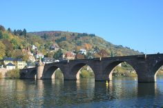 Bridge in Aldstadt, Heidelberg, Germany