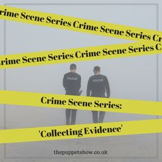 Crime Scene Series: Collecting Evidence - The Puppet Show Writing Genres, Fiction Writing, Writing Advice, Writing Prompts, Writing Ideas, Cops And Robbers, Puppet Show, Crime Fiction, Criminology