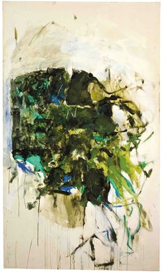 Joan Mitchell  Untitled, 1964  Oil on canvas  194.9 x 113.7 cm