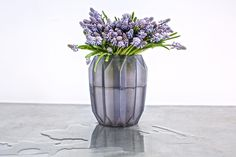 Oh hi #muscari just delightful and perfect in a vase #McQueens #flowers #florist #london #londonflorist #londonflowers by mcqueensflowers