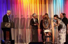 Willis Horton with his wife Glenda, Take Charge Brandi, Champion 2 year old filly, 2014 Eclipse Awards photosbyz.com