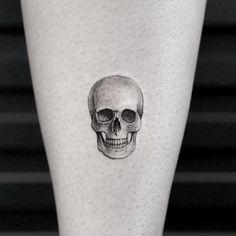 Tiny skull by Sanghyuk Ko