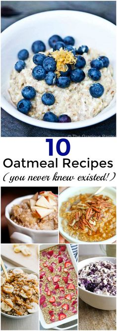 10 Oatmeal Recipes You Never Knew Existed