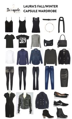 Another look at Laura's Fall/Winter Capsule Wardrobe
