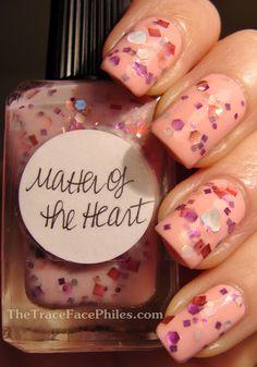 Matter of the heart. http://www.thetracefacephiles.com/2012/02/lynnderella-matter-of-heart.html