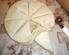 Оформление(разделка) пирогов и булок.