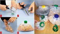 Come riciclare il tappo di una bottiglia di plastica